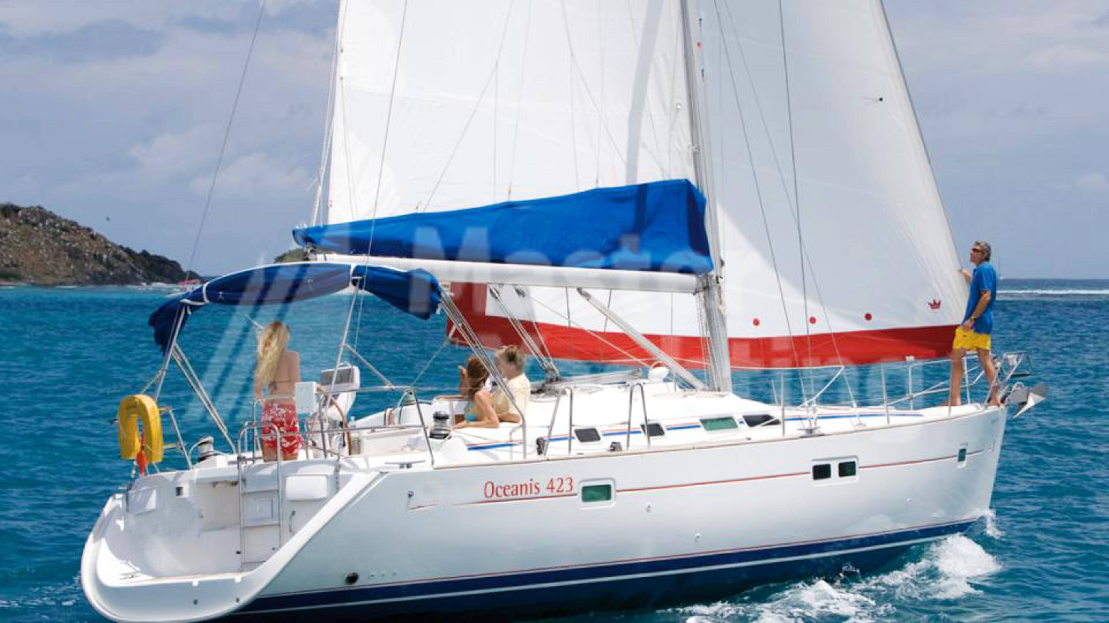 Sunsail Oceanis 423