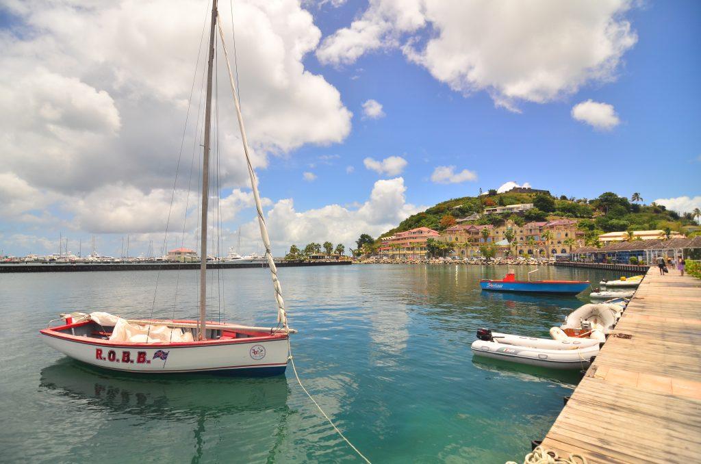 Boote im Hafen von St. Martin / Insel der Leewards