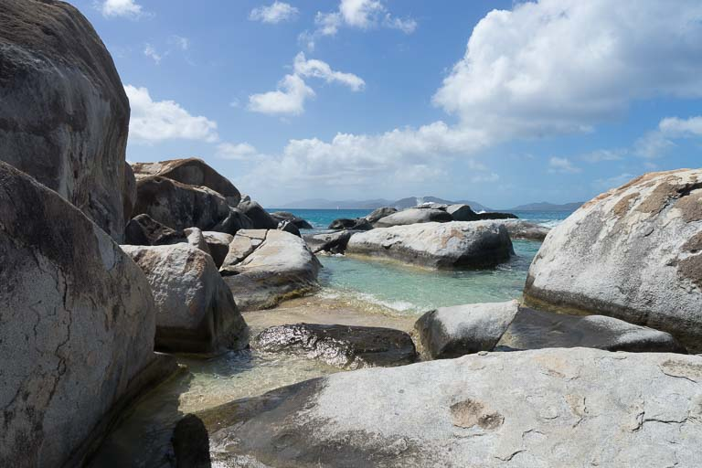 The Baths auf Virgin Gorda