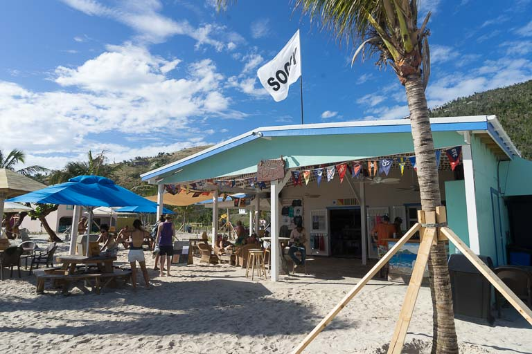 Soggy Dollar Bar auf Jost van Dyke