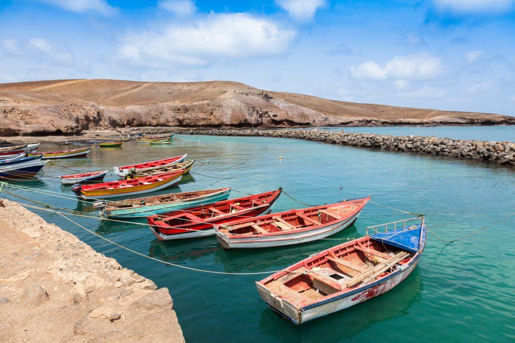 Kapverden – Fischerboote