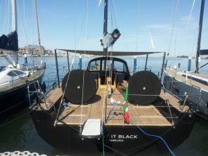 Die Solaris 58 im Wasser