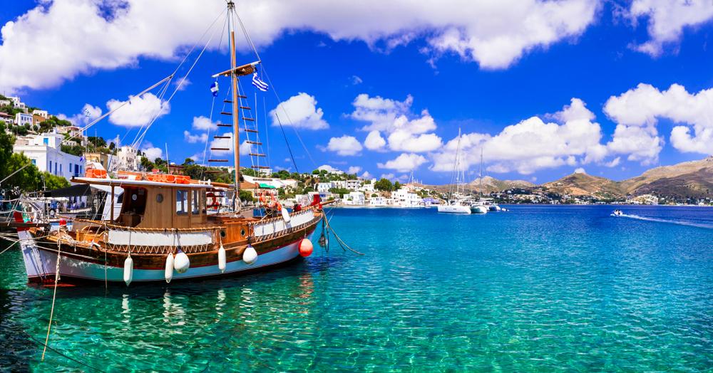 Hafen in Griechenland