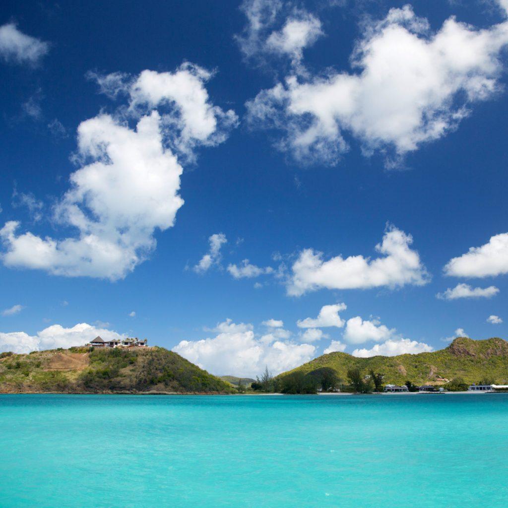 Bucht auf Antigua