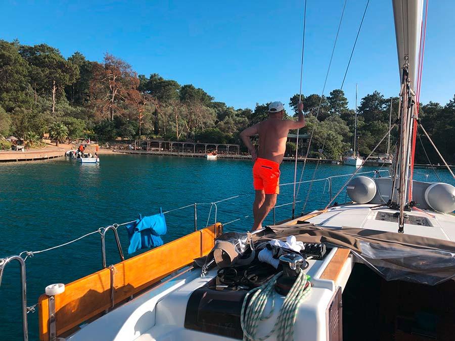 Türkei Yacht Weitsichts